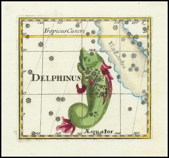 51-Celestial Maps Map By Corbinianus Thomas