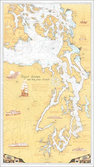 33-Washington and British Columbia Map By R.O. Malin