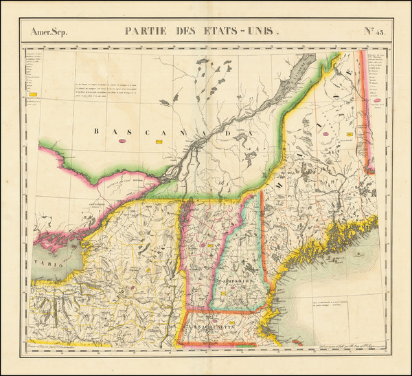 17-New England, Maine, Massachusetts, New Hampshire, Vermont, New York State and Eastern Canada Ma