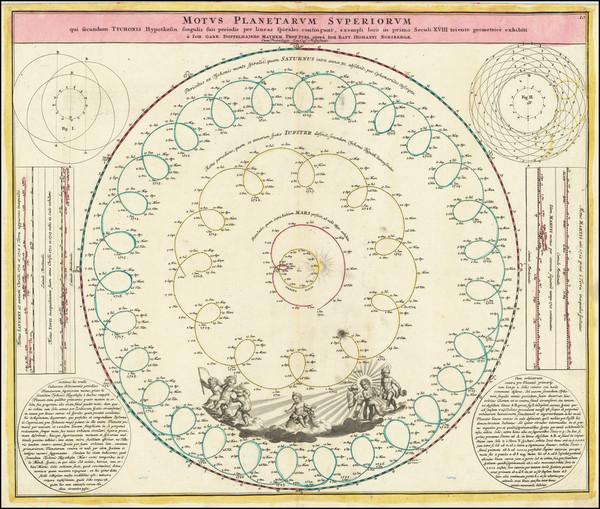 29-Celestial Maps Map By Johann Gabriele Doppelmayr