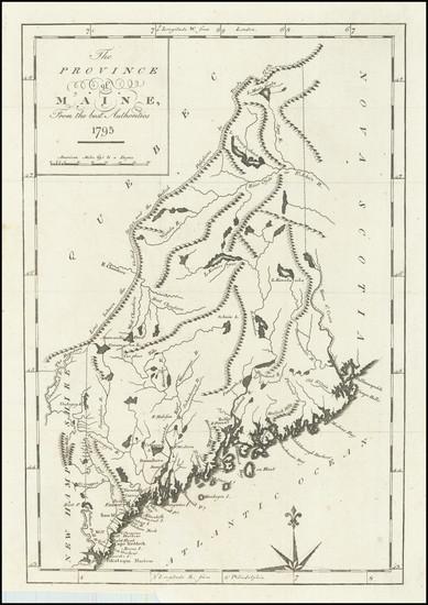 33-Maine Map By John Reid