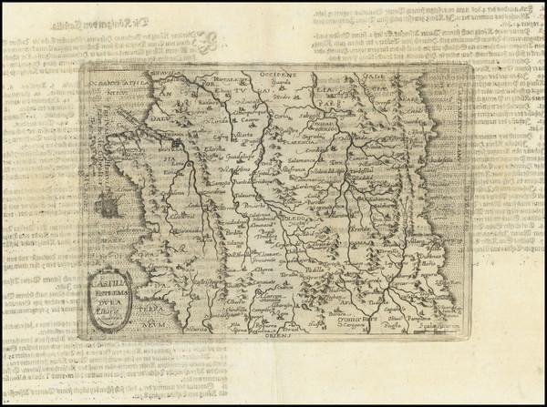 67-Spain Map By Johannes Matalius Metellus