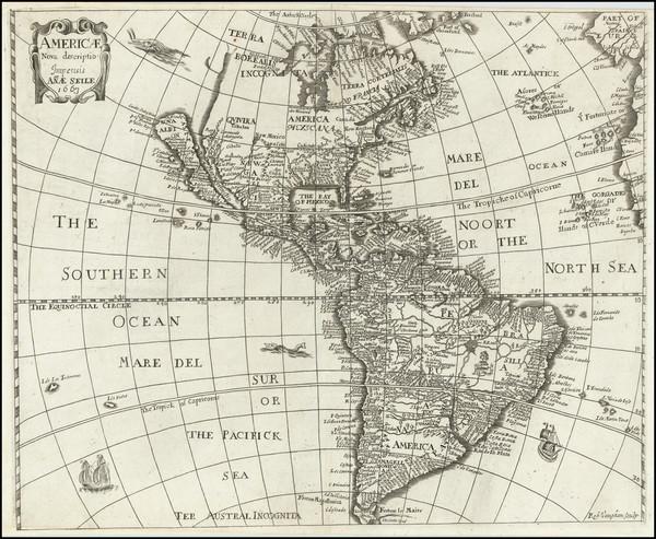 78-California as an Island and America Map By Anna Seile