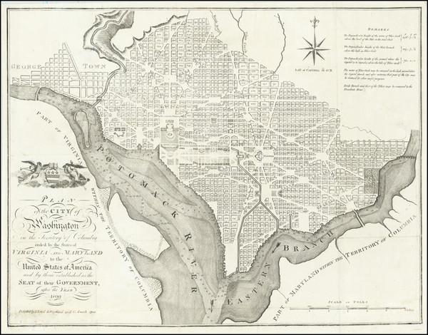 50-Washington, D.C. Map By John Reid