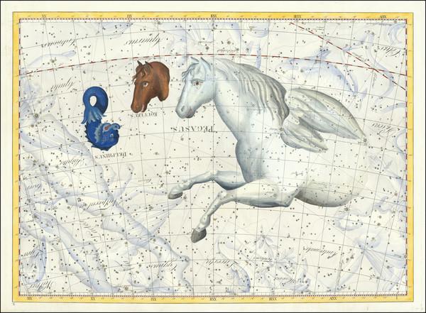 9-Celestial Maps Map By Johann Elert Bode