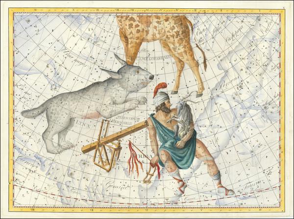 20-Celestial Maps Map By Johann Elert Bode