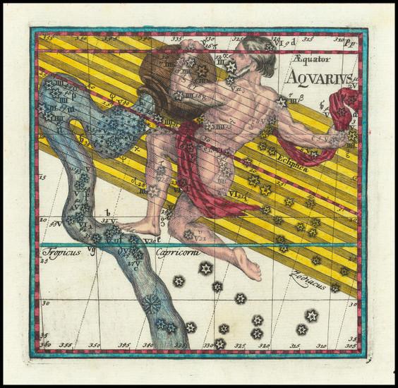 100-Celestial Maps Map By Corbinianus Thomas
