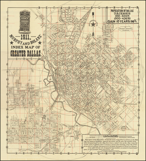 28-Texas Map By J. P. Murphy  &  Charles F. Bolanz