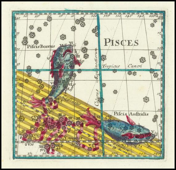43-Celestial Maps Map By Corbinianus Thomas