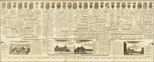 19-France and Curiosities Map By Henri Chatelain