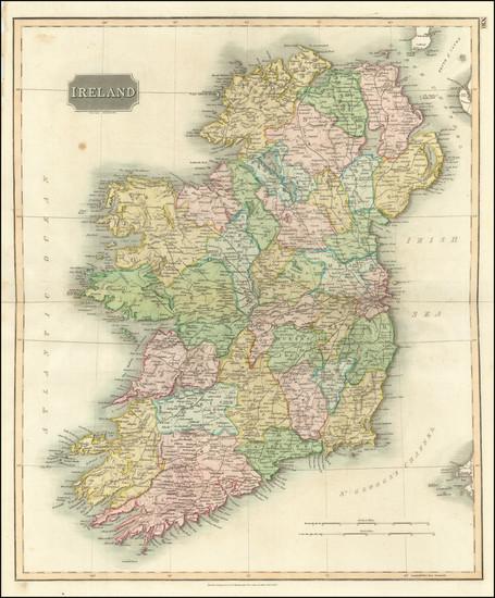 94-Ireland Map By John Thomson