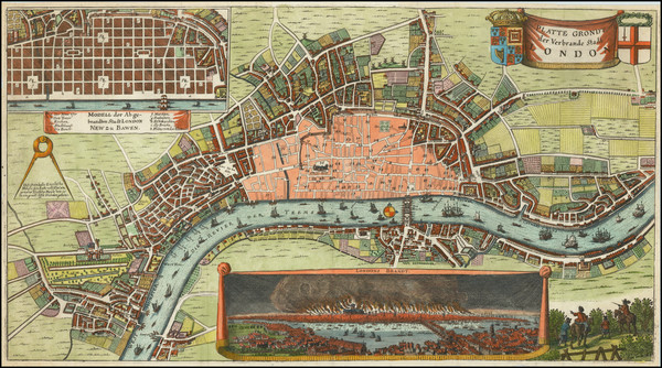 18-London Map By Wilhelm Serlin
