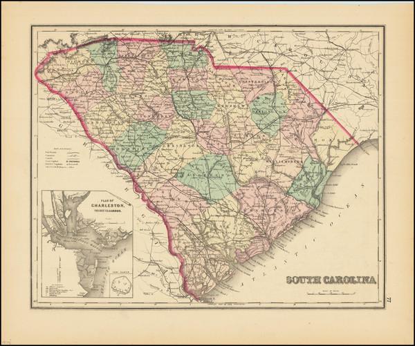7-South Carolina Map By O.W. Gray