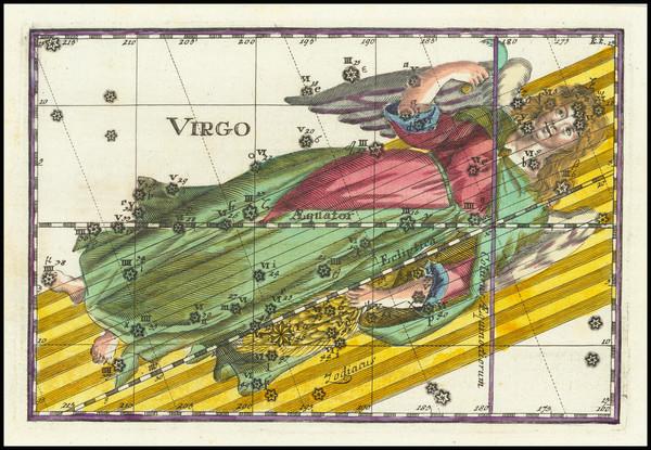 0-Celestial Maps Map By Corbinianus Thomas