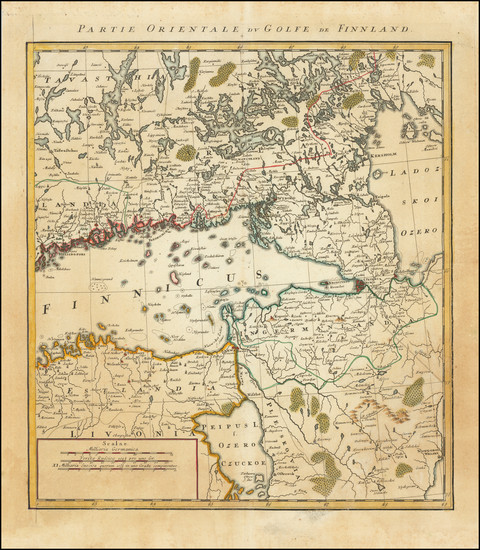 20-Baltic Countries and Finland Map By Tobias Mayer