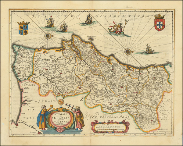 14-Portugal Map By Jan Jansson