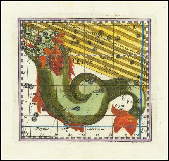 31-Celestial Maps Map By Corbinianus Thomas
