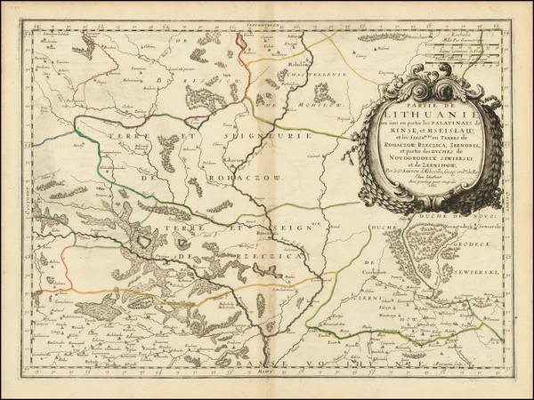 73-Russia and Ukraine Map By Nicolas Sanson