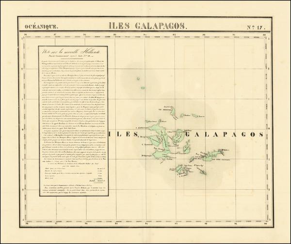 23-Peru & Ecuador and Pacific Map By Philippe Marie Vandermaelen