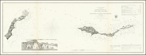 50-California Map By United States Coast Survey