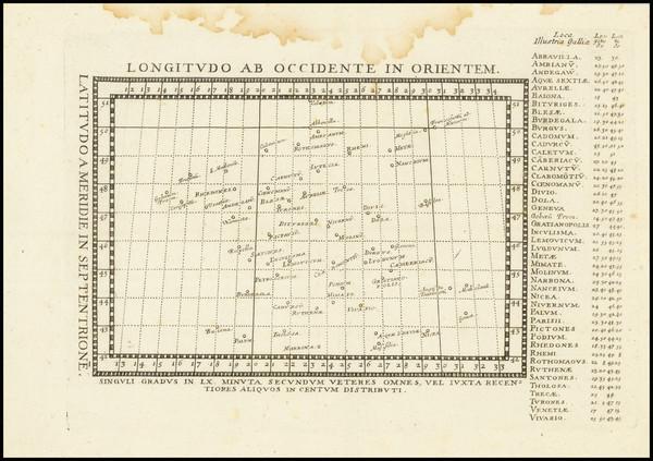 62-Celestial Maps Map By Philippo Brieto