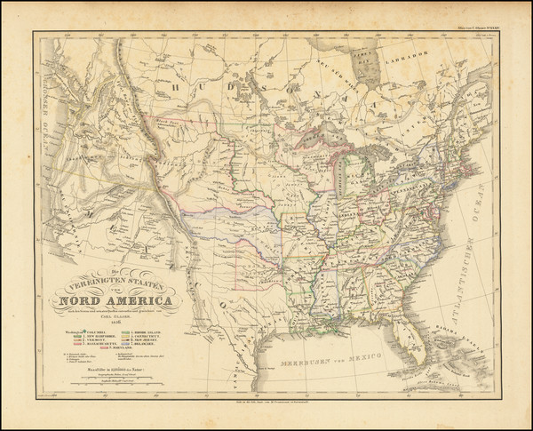 15-United States Map By Carl Glaser