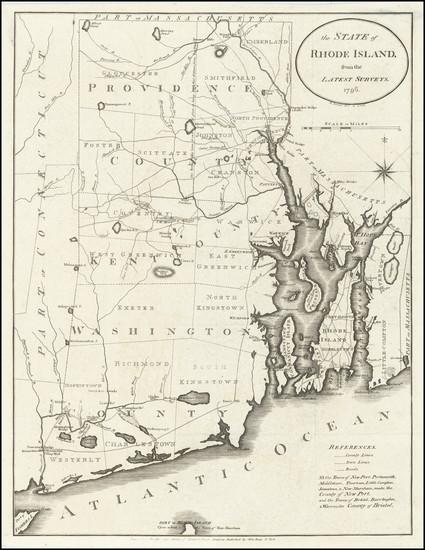 74-Rhode Island Map By John Reid