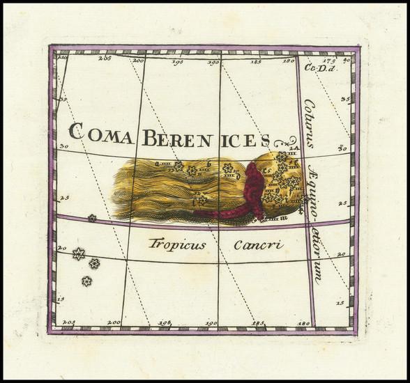 78-Celestial Maps Map By Corbinianus Thomas