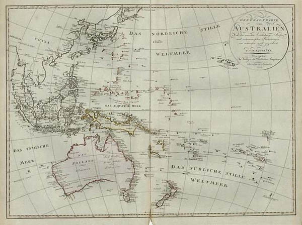 41-Asia, Southeast Asia, Australia & Oceania, Australia, Oceania and Other Pacific Islands Map