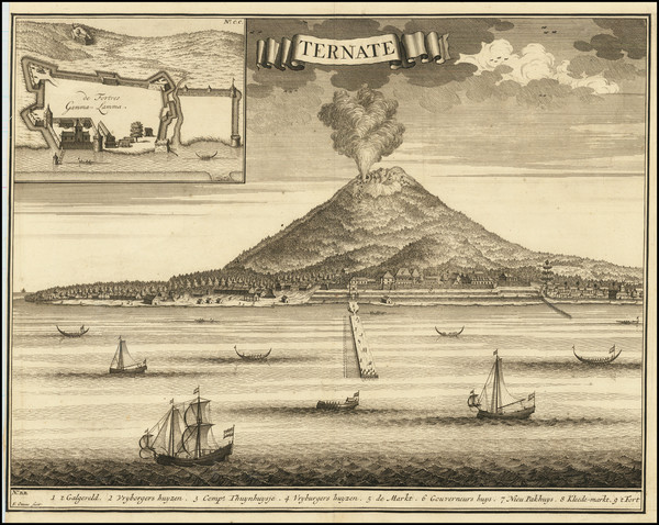 0-Indonesia Map By Francois Valentijn