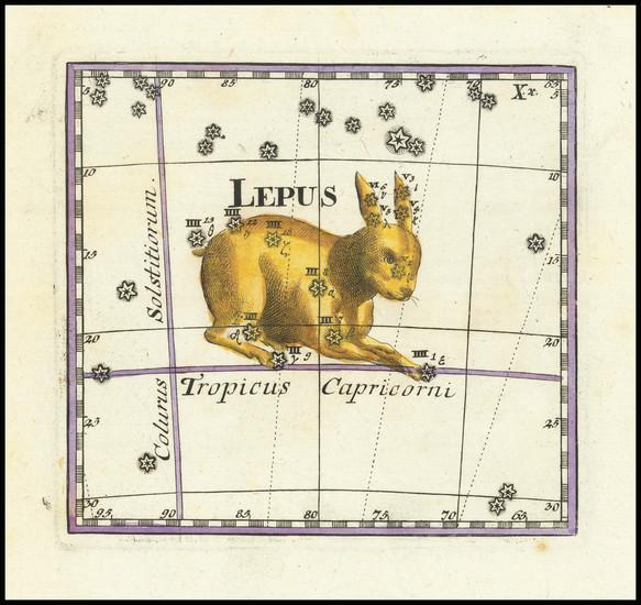 30-Celestial Maps Map By Corbinianus Thomas