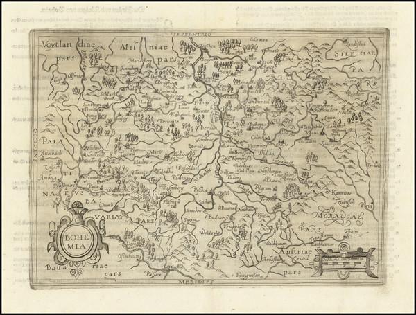 14-Czech Republic & Slovakia Map By Johannes Matalius Metellus