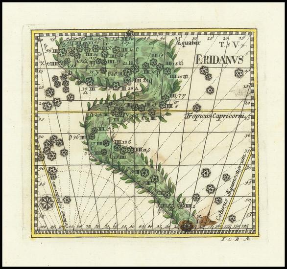 59-Celestial Maps Map By Corbinianus Thomas