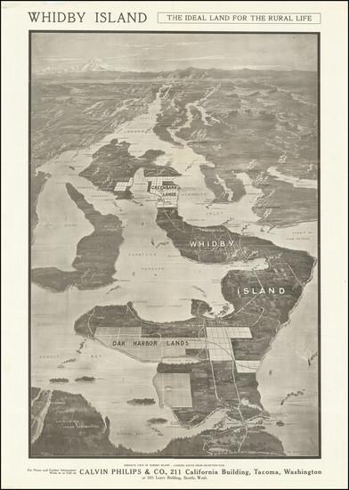 31-Washington Map By Calvin Philips & Co.