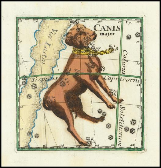 50-Celestial Maps Map By Corbinianus Thomas