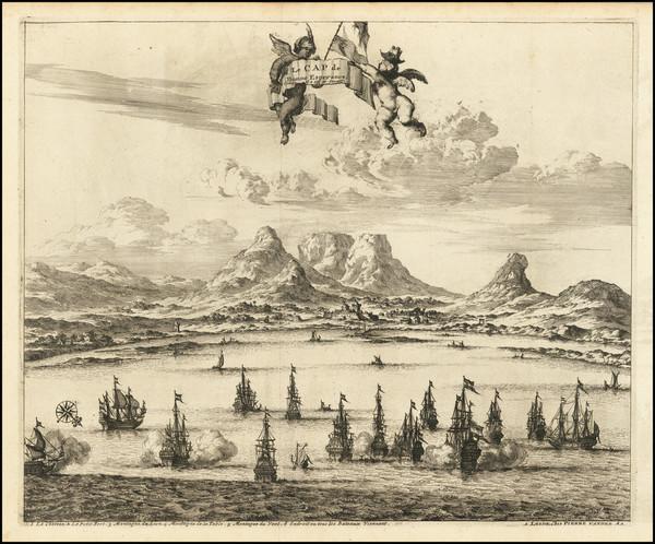79-South Africa Map By Pieter van der Aa