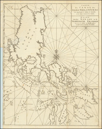 97-Philippines Map By George Anson