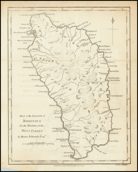14-Other Islands Map By Bryan Edwards  &  John Stockdale