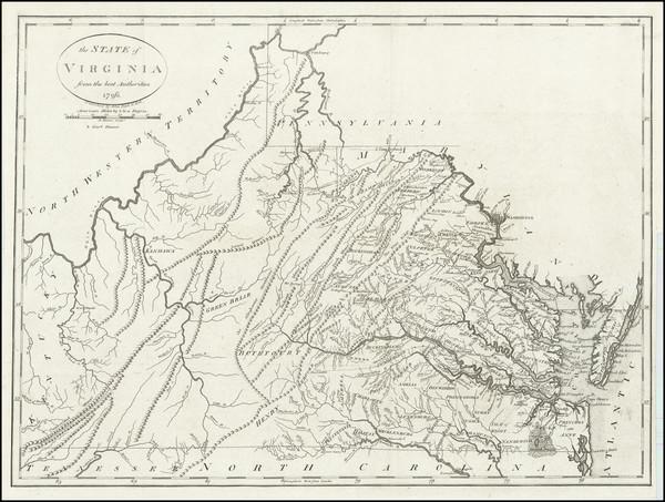 83-Mid-Atlantic and Southeast Map By John Reid
