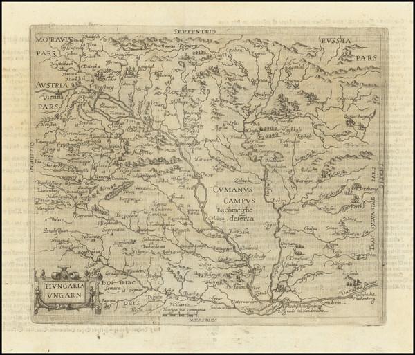 91-Hungary, Czech Republic & Slovakia, Croatia & Slovenia and Serbia & Montenegro Map