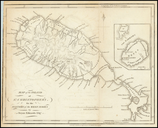 19-Other Islands Map By Bryan Edwards / John Stockdale