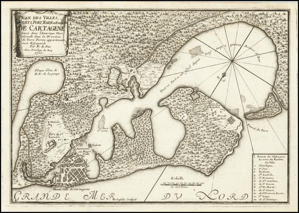 6-Colombia Map By Nicolas de Fer