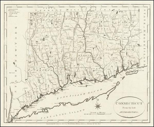 97-Connecticut Map By John Reid
