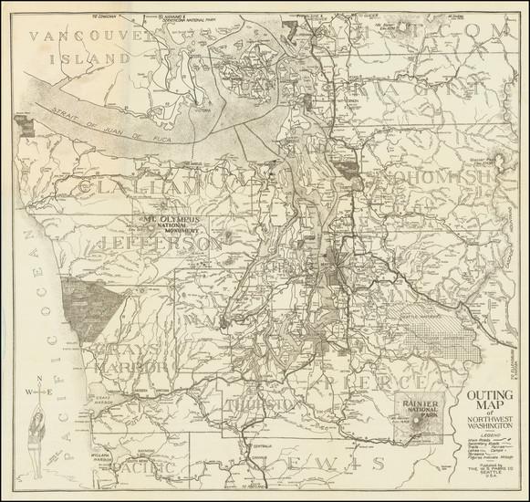 9-Washington Map By Edward R. Smith