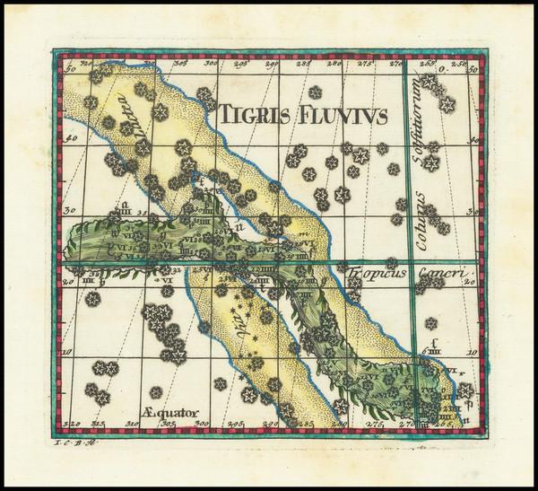 80-Celestial Maps Map By Corbinianus Thomas