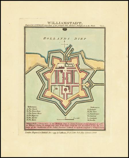 87-Netherlands Map By John Luffman