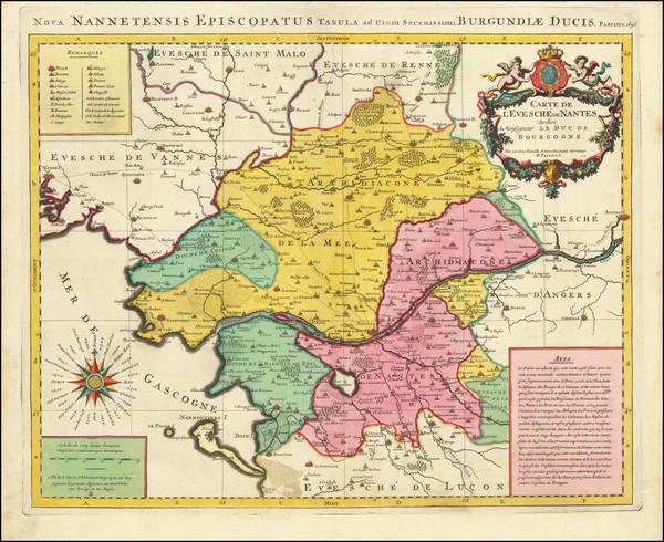 33-Centre et Pays de la Loire Map By Alexis-Hubert Jaillot
