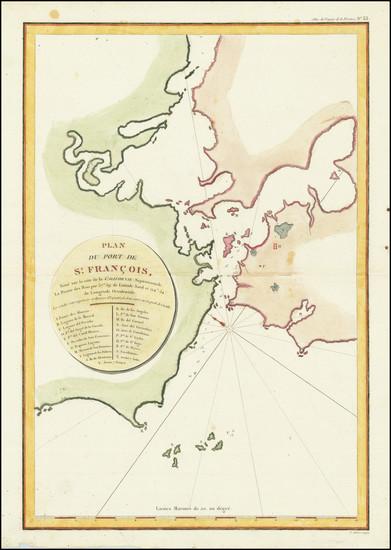 60-San Francisco & Bay Area Map By Jean Francois Galaup de La Perouse