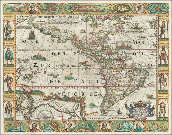 85-America Map By Robert Walton
