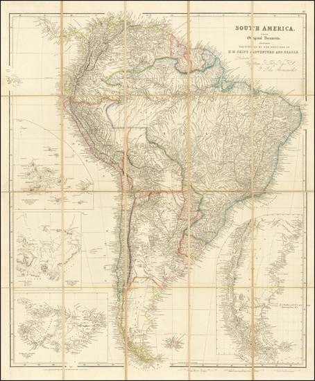24-Peru & Ecuador Map By John Arrowsmith